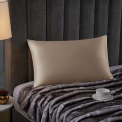 Silk Pillowcase Champagne