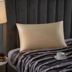 Silk Blend Pillowcase Ivory