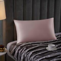 Silk Blend Pillowcase Pink