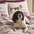 Catherine Lansfield Country Dogs Natural small 6652D