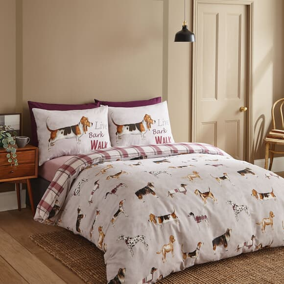 Catherine Lansfield Country Dogs Natural large