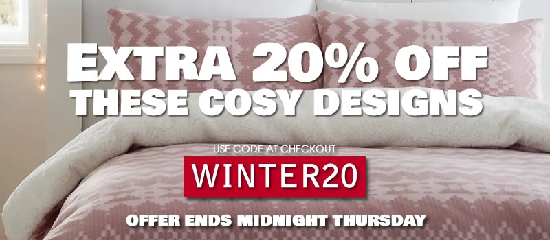 Get Cosy With An Extra 20% Off These Designs