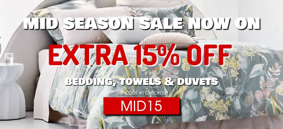Bedding Sale Now On