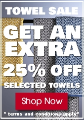 Towel Sale Now On