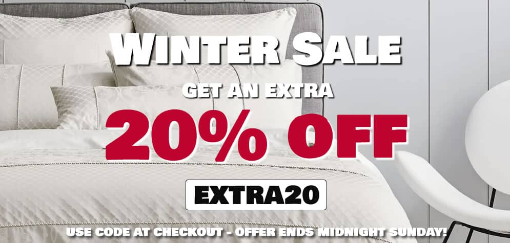 Winter Bedding Sale Now On