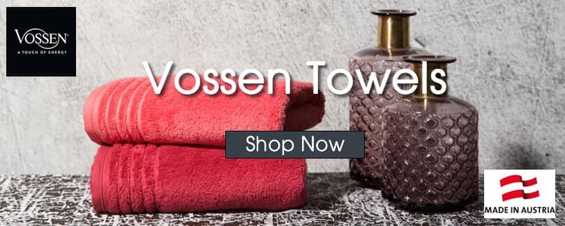 Try Vossen Towels