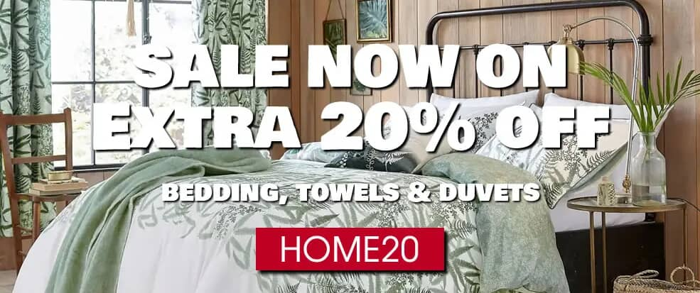 Home Sale Now On Extra 20% Off