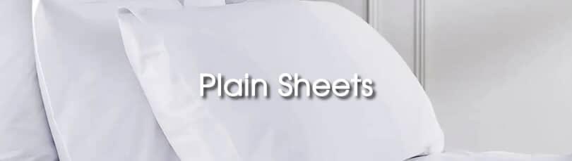Bedeck Of Belfast Fine Linens Plain Sheets