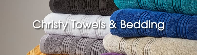 Christy Towels and Bedding