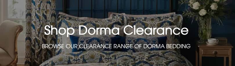 dorma clearance bedding