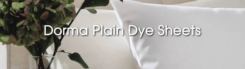 dorma plain dye sheets