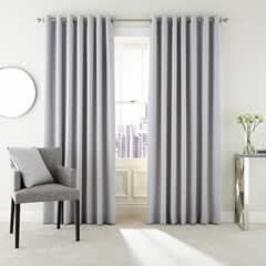 Peacock Blue Hotel Curtains