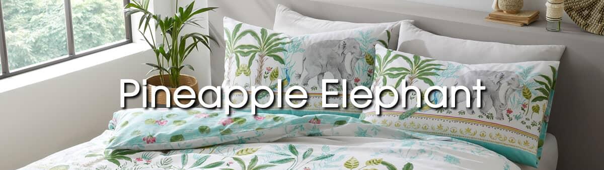 Pineapple Elephant Bedding