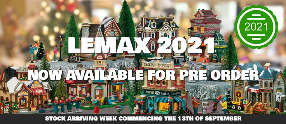 Lemax Christmas Available For Pre Order