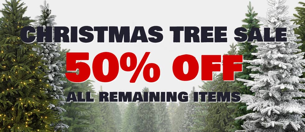 Christmas Tree Sale Now On - 50% Off