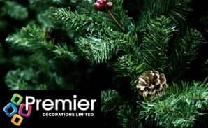 Premier Artificial Christmas Trees and Wreaths