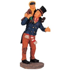 Lemax - Bob Cratchit And Tiny Tim