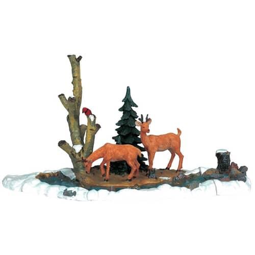 Lemax - Feeding Deer