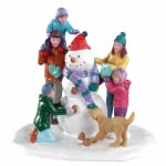 Lemax - Snowman Teamwork