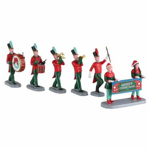 Lemax - Christmas On Parade Set Of 6
