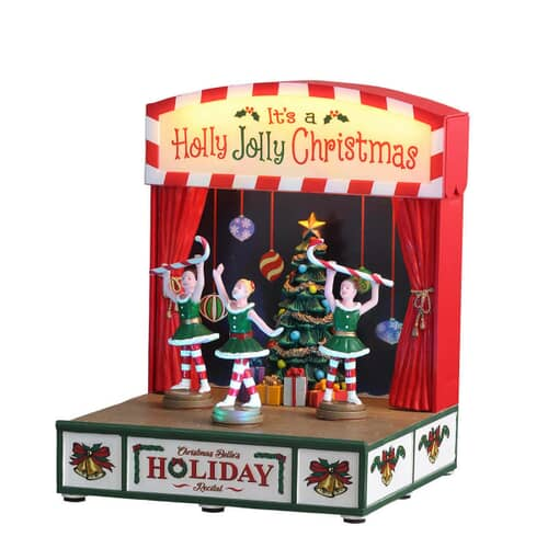 Lemax - Christmas Belles Hoilday Recital Battery Operated (4.5V)