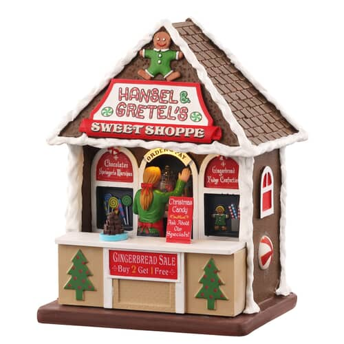 Lemax - Hansel and Gretels Sweet Shoppe (UNBOXED)