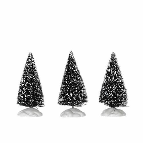 Lemax - Bristle Tree Set Of 3 Mini
