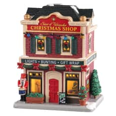 Lemax - Star Of Wonder Christmas Shop Battery Operated Led