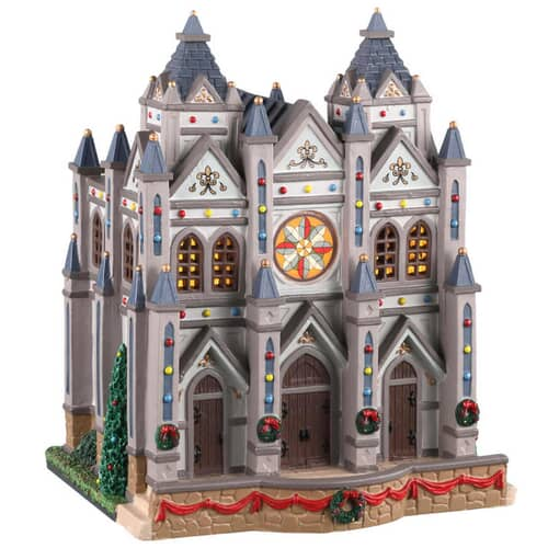 Lemax - Christmas At The Cathedral Battery Operated Led