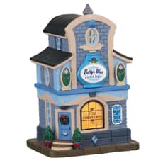 Lemax - Bettys Blue China Shop Battery Operated Led