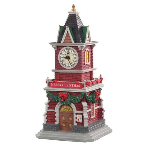 Lemax - Tannenbaum Clock Tower Battery Operated (1.5V)