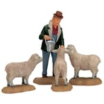 Lemax - The Good Shepherd Set Of 4