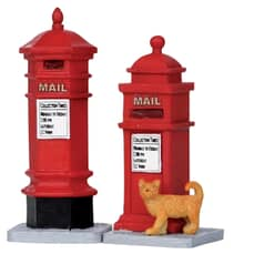 Lemax - Victorian Mailboxes Set Of 2