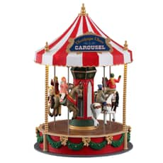 Lemax - Christmas Cheer Carousel Battery Operated (4.5V)
