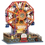 Lemax - Victorian Flyer Ferris Wheel With 4.5V Adaptor