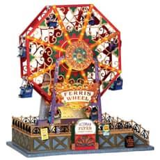 Lemax - Victorian Flyer Ferris Wheel With 4.5V Adaptor
