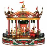 Lemax - Santa Carousel With 4.5V Adaptor