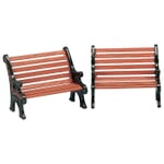Lemax - Park Bench Set Of 2