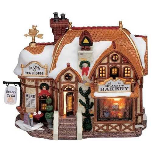 Lemax - Devaneys Bakery Battery Operated Led