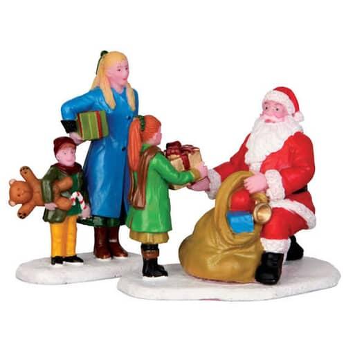 Lemax - Presents From Santa Set Of 2
