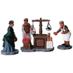 Lemax - The Market - Set of 3