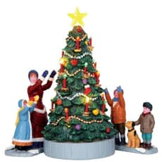 Lemax - The Village Tree Set Of 3 Battery Operated (4.5V)