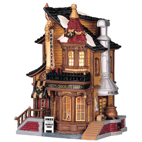 Lemax - Lucys Chocolate Shop Battery Operated Led