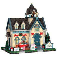Lemax - Village Church Battery Operated Led