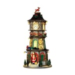 Lemax - Christmas Clock Tower With 4.5V Adaptor