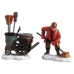 Lemax - Street Sweeper - Set of 2