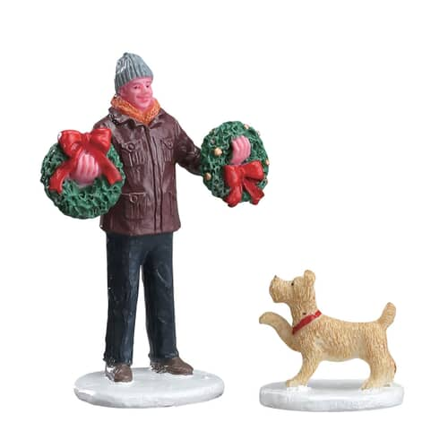 Lemax - Tree Lot Figure Set Of 2