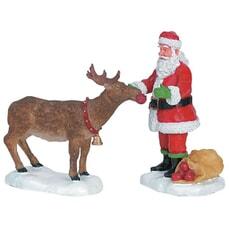 Lemax - Reindeer Treats Set Of 2