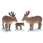 Lemax - Reindeer Set Of 3