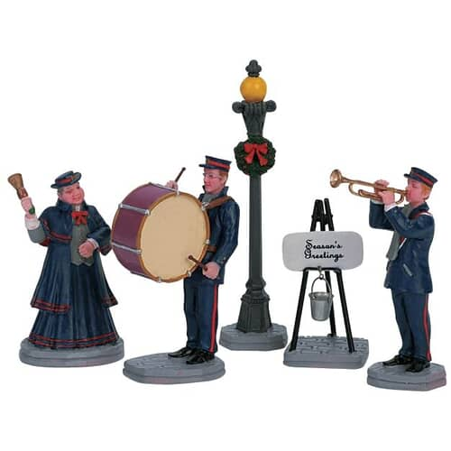 Lemax - Christmas Band Set Of 5